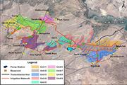 Development of Water and Soil Resources along the  Southern Course of the Aras river ...