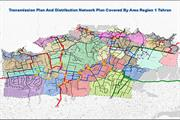 Revision of the water distribution network and related facilities in Region 1 Water and Wastewater Authority of Tehran