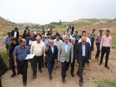 Visit of the Minister of Energy from the dam of Wadan regarding the use of the dam for tourism purposes